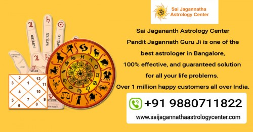 Contact Pandit Sai Jagannath Guruji Astrologer in Bangalore, to know about your fate. Get resolved your all love problems with simple remedies. Get solution on call. Black Magic Removal. Vashikaran Specialist. Powerful prediction.  https://saijagannathaastrologycenter.com/